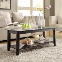 Convenience Concepts  Carmel Coffee Table (Black)