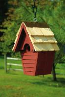 Heartwood Wren-In-The-Wind Birdhouse, Redwood