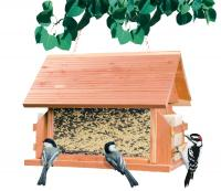 Perky Pet The Lodge Cedar Bird Feeder