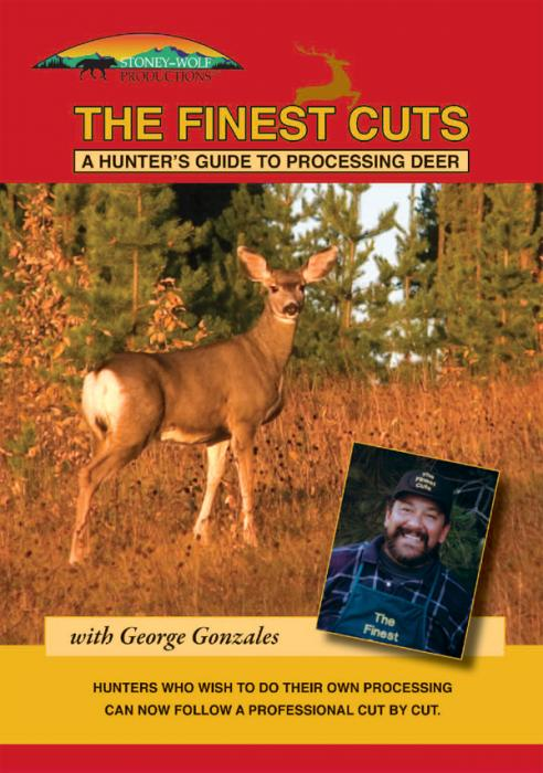 Stoney-Wolf The Finest Cuts - Hunters Guide to Processing Deer DVD