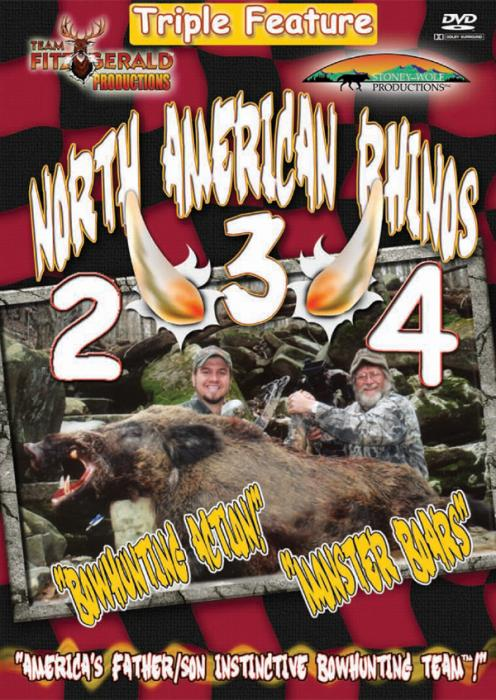 Stoney-Wolf North American Rhinos 2,3,4 DVD