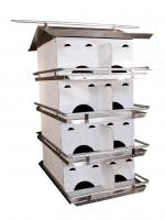 Bird's Choice Assembled SREH 4 Floor Purple Martin House