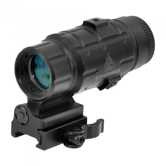 UTG 3X Flip-to-Side Magnifier