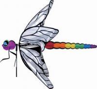 Premier Designs Dragonfly Garden Spinner
