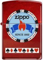 2013N ZIPPO PROCUT GentlemansBet Red