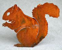Elegant Garden Design Nibbling Squirrel