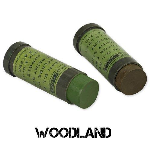CAMCON FACE PAINT - WOODLAND: GREEN & LO