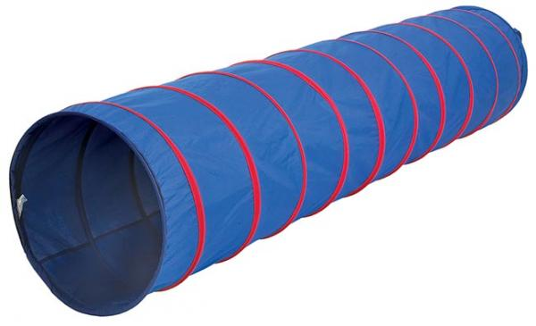Pacific Play Tents Institutional 9Ft X 22In Tunnel - Blue/Red