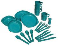 Chinook Camper Tableware Set