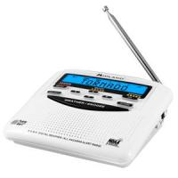 Midland WR-120 Weather Alert Trillingual Radio w/Alarm Clock