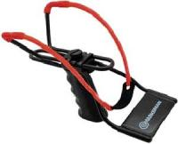 Marksman Adjustable Slingshot Black Handle w/Red Band