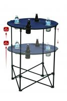Picnic Plus Portable Tailgate Scrimmage Table, Navy
