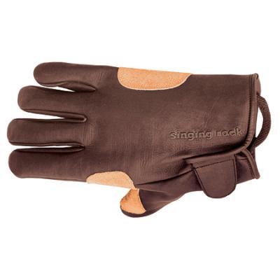 Singing Rock Sr Grippy 3/4 Leather Glove S