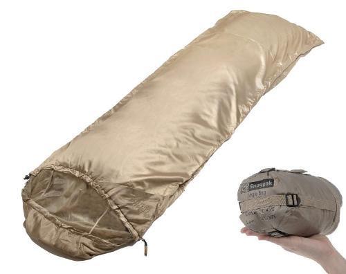 SnugPak Jungle Bag Desert Tan RH Zip Sleeping Bag