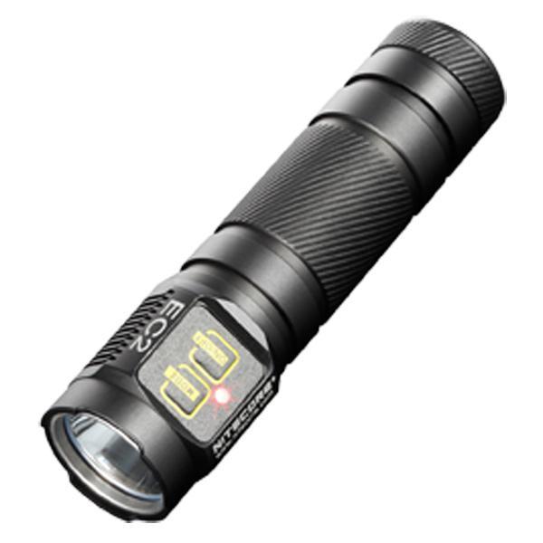 nitecore ec2 explorer flashlight black 320lm. Black Bedroom Furniture Sets. Home Design Ideas