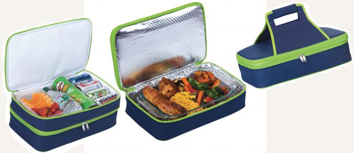Picnic Plus Entertainer Hot & Cold Food Carrier - Navy