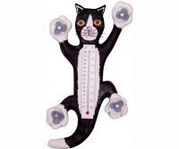 Bobbo Black/White Cat Climb Thermometer Small