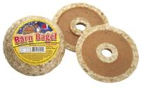 Redbarn Pet Products Peanut Butter Filled Rawhide Bagel Shaped Dog Treat