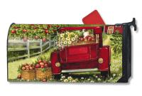 Magnet Works Red Truck MailWrap
