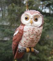 Songbird Essentials Screech Owl Ornament