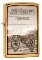 Zippo Gettysburg lone cannon