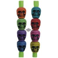 5ive Star Gear SKULL BEADS, MIXED ASSORTMENT (50 Pack)