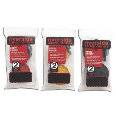 Riverside Cartop Carriers Cam Straps 12' Black Bulk