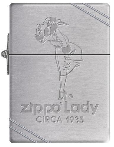 Zippo 1935 Replica w/ Zippo Lady