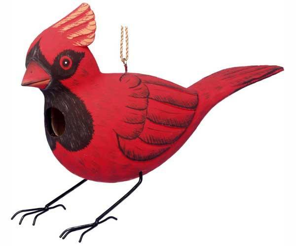 Bobbo Cardinal Birdhouse