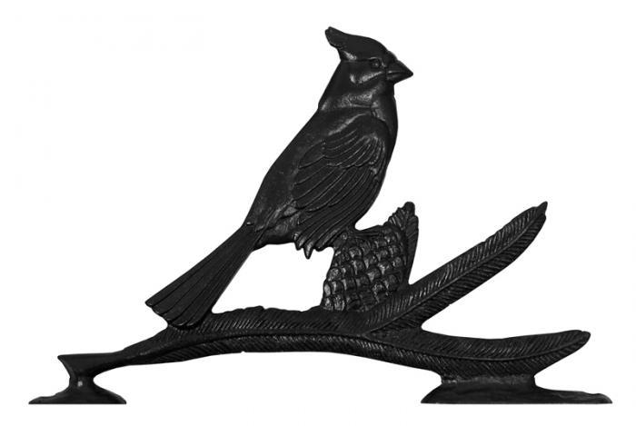 "30"" Cardinal Weathervane - Rooftop Black"