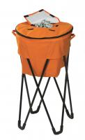 Picnic Plus Insulated Tub Cooler with Stand - Orange