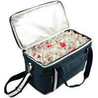 Picnic at Ascot Hybrid Semi-Rigid Folding Cooler- Navy