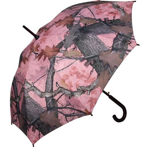 "River's Edge 45"" Full Size Pink Camo Umbrella"