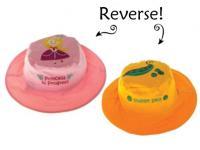 Luvali Convertibles Princess/Pea Reversible Kids' Hat Small