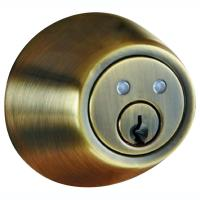 Morning Industry Inc RF-01AQ Remote Control Electronic Dead Bolt (antique Brass)