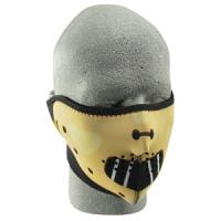 Cold Weather Headwear Neoprene 1/2 Face Mask, Hannibal