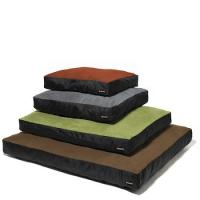 Big Shrimpy Original Dog Bed - Medium/Coffee Suede