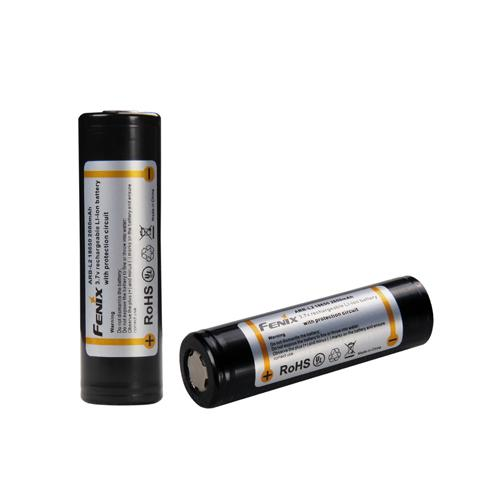 Fenix Outfitters Fenix 18650, 2600 mAh battery, Black