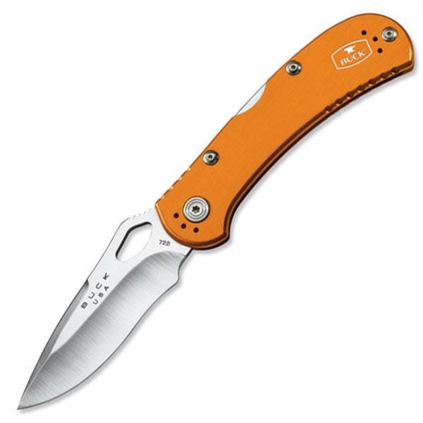 Buck Knives SpitFire Folding Knife, Orange