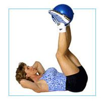 "J/Fit 9"" Durable Vinyl Therapy Excercise Ball"