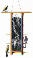 Schrodt Heron Willows Teahouse Bird Feeder