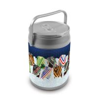 Picnic Time 9 Quart Capacity Can Cooler - Classic Cans