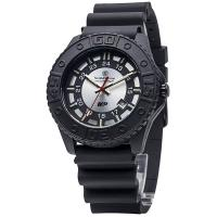 Smith & Wesson Military & Police Tritium Watch - Gray Face & Black Stainless Strap