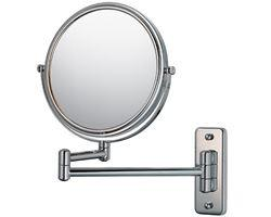 "Kimball & Young Double Arm Non-Lighted Wall Mirror - 7 3/4"", Chrome"