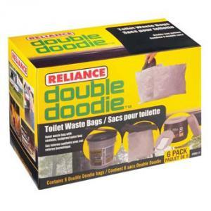 Reliance Double Doodie No Bio Gel - 6 Pk