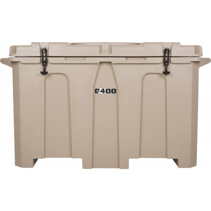 Grizzly 400 Quart Cooler, Made in the USA,Tan/Tan