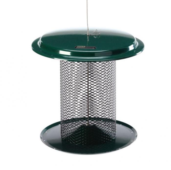 Birds Choice 5 Quart Magnet Mesh Sunflower Feeder - Green
