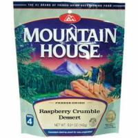 Mountain House Raspberry Crumble - Serves 4