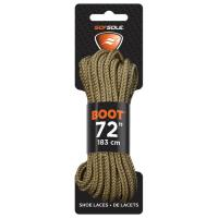 """Boot Waxed Lace Brown 72"""""""