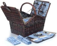 Picnic & Beyond Marina Collection - (A) 4 person Willow Picnic Basket